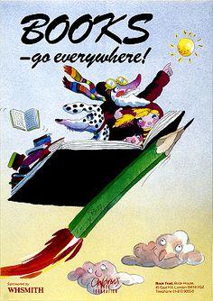 Books go everywhere / Tony Ross (2000)