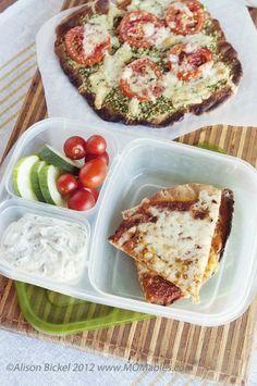 Grilled Pizza  #gladinspiredlunches