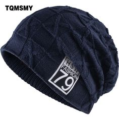 a01474aee1a TQMSMY 2018 Unisex Winter Men Beanies Hats Women s Knitted Number 79 Label  Cap Solid Ski Colors Gorros Bonnet Beanie Hat TMC07