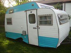 Vintage 1969 Serro Scotty camper sportsman 13 foot canned ham camper project in RVs & Campers | eBay Motors