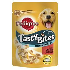 Pedigree Tasty Bites Cheesy Nibbles Was £1.50   Now £1.00 http://tidd.ly/a9ae75fb