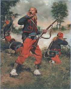 "114th Pennsylvania Volunteer Infantry Regiment ""Zouaves of Collis"". Total War, Deadpool, Superhero, History, Pennsylvania, Fictional Characters, Art, Art Background, Historia"
