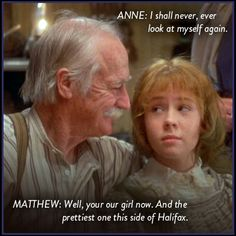 Yep... Anne was Matthew's girl alright.