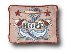 Hope Tattoo Cross Stitch Kit - small - Hope Tattoo Needlepoint Kit small by em. - Hope Tattoo Cross Stitch Kit – small – Hope Tattoo Needlepoint Kit small by emilypeacocktapes - Helix Jewelry, Body Jewelry Piercing, Cross Stitch Tattoo, Guys Eyebrows, Tapestry Kits, Needlepoint Kits, Faith Hope Love, Le Point, Tatting