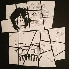 #siamesetwins #blackandwhite #puzzle #art #artsy #instagood