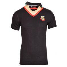 Black V-Neck T-Shirt-₹99.00