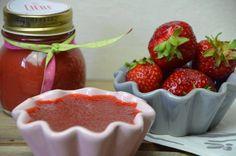 Erbdeeren-Rhabarber Marmelade