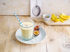 Kokosovo-marakujové smoothie s paprikou