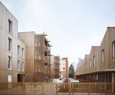 Chauveau - 26 Social Dwellings,© David Foessel