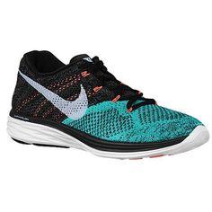 new style d0124 884c6 Nike Flyknit Lunar 3 - Womens - Black White Light Retro Lava Glow. Price  Shoppers · Nike Running