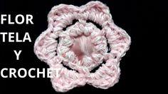 Flor N° 16 en tejido crochet tutorial paso a paso.