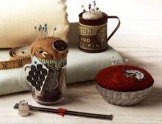 ༺༺༺♥Elles♥Heart♥Loves♥༺༺༺ .............♥Pincushions♥............. #Pincushion #Pin #Cushion #Design #Sewing #Notions #Needle #Handmade #Vintage #Craft #Tutorial #Pattern ~ ♥Small Pincushions