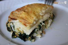 Lasaña de espinacas y atún, una receta fácil que requiere un poquito de elaboración y que tiene un sabor sensacional.
