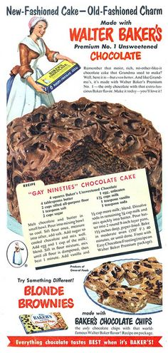 Baker's Chocolate - 19511200 Household | von Jon Williamson