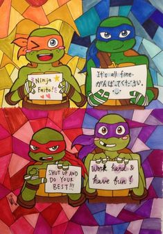 Omg look at Raph and Donnie