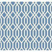 "Found it at Wayfair - Ashford Geometrics 27' x 27"" Garden Pergola Geometric Wallpaper"