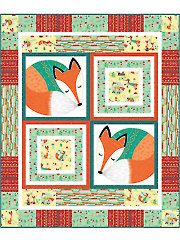 Applique Baby & Kids Patterns - Nap Time for Rusty Quilt Kit from Annie's Craft Store. Order here: https://www.anniescatalog.com/detail.html?prod_id=124974&cat_id=1721