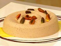 Gelatina de chocolate de metate,haciendo todo el procedimiento en casa del molido del cacao.