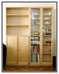 Ikea Billy Bookcases With Doors