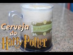 Como fazer a cerveja do Harry Potter - #JuTodoDia