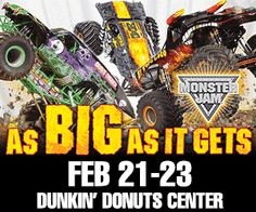 Monster Jam® returns to Providence for one weekend only! | Macaroni Kid