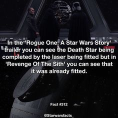 Did anyone else catch this I did! #RogueOneIsAPrequel #starwarsfacts by starwarsfacts_