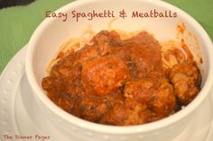 """Since my son started eating """"real"""" food, meatballs have become one of the most frequently served dinners in our household. I like to mix it up, sometimes using beef, sometimes turkey, a…"""