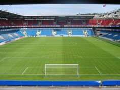 View from aeria 228 at Ullevaal Stadion Real Madrid, Soccer, Sports, Santiago, Hs Football, Hs Sports, Futbol, Sport, European Soccer