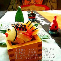 今日からお祭り♬ - 274件のもぐもぐ - 鯛曳山おにぎり♬ by onimama