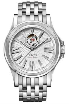 BULOVA ACCU SWISS Mod.KIRKWOOD - AUTOMATIC WATCH LUMINOUS INDEX 10 ATM 40mm   Watche.s