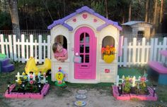 Cor brooke maybe plastic playhouses for girls .little girls dream come true