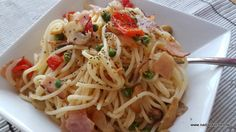 Snabba pastan - skinka - pasta - grönsaker - viktväktarna - smartpoints