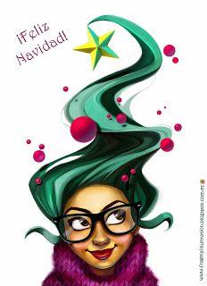 Ilustraciones: Happy Christmas!!