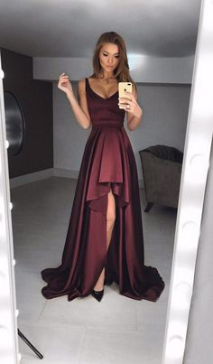 simple prom dresses,burgundy evening gowns,fashion prom dresses #prom #promdress #dress #eveningdress #evening #fashion #love #shopping #art #dress #women #mermaid #SEXY #SexyGirl #PromDresses
