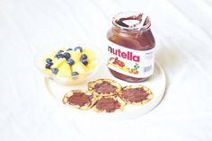Nutella, chocolate, food