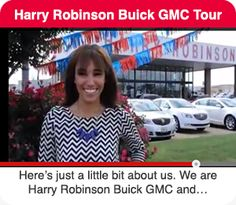 "Here's our ""about us"" video. Harry Robinson #Buick GMC #FortSmith AR ;)"