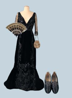 Early 1900's inspired New Years Eve outfit