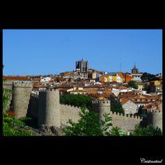 #Avila amurallada. #Spain.