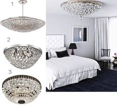 How to Make Your Bedroom Romantic with Black Crystal Chandeliers