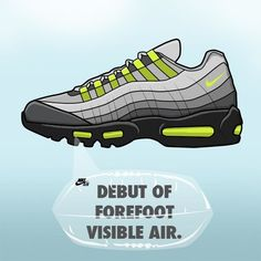6bf23aa0e353 Air Max 95 - The Nike Air Max Series Detailed and Illustrated
