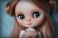 OOAK Middie Blythe Doll custom by AlmondDoll by AlmondDoll
