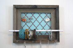 Quatrefoil Jewelry Holder Organizer Jewelry Display by hudsonlace