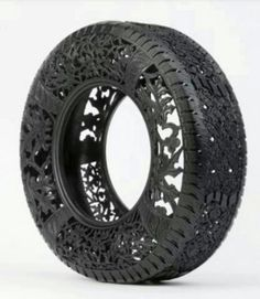 Recycled tires!!  OMG, LOVE!  But, I can't imagine how hard that is to cut!! http://calgary.isgreen.ca/about-us/