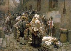MARIA TERESA LUISA DE SABOYA-CARIGNAN PRINCESA DE LAMBALLE- y su linchamiento el 3 de septiembre de 1792 en el exterior de la prisión parisina de La Force.