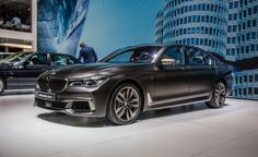 2017 BMW M760i: Finally Applying M to the 7 - Photo Gallery of Auto Show from Car and Driver - Car Images - Car and Driver