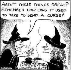 Modern witches!