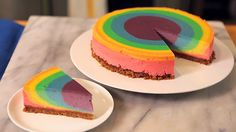 7 Magnificent Marbled Cheesecakes
