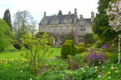 Barnsley House, nr. Cirencester, home of the late Rosemary Verey - now an upmarket boutique hotel.