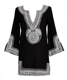 Coco Bay black and white kaftan for all occasions!
