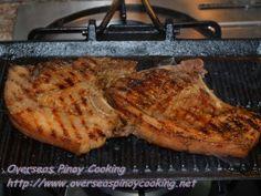 Grilled Pork Chop - Grilling Procedure